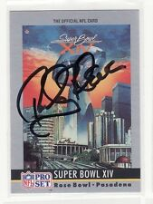ROCKY BLEIER SIGNED PITTSBURGH STEELERS FOOTBALL CARD