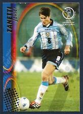 PANINI WORLD CUP 2002- #026-ARGENTINA & INTER-JAVIER ZANETTI