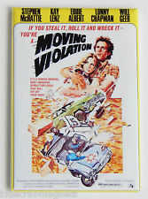 Moving Violation Fridge Magnet (2.5 x 3.5 inches) movie poster