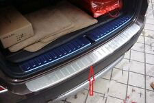 REAR BUMPER PLATE SILL COVER for BMW X3 F25 2011 2012 2013
