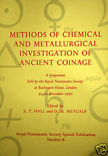 * Methods of chemical and metallurgical investigation of ancient coinage, 1972
