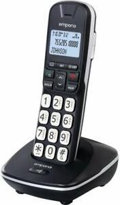 Schnurlos telefon mit groß Tasten Senioren Festnetz Analog Beleuchtete Display /