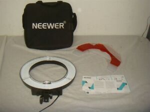 """NEEWER RL-14 14"""" LED PHOTOGRAPHY/VIDEOGRAPHY RING LIGHT (l170) -READ!"""
