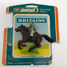 Britains Deetail Metal Base Model — Mounted Confederate Trooper w/package