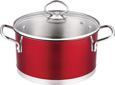 Stainless Steel 3.0QT Stock Pot with Lid