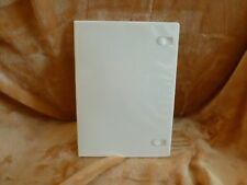 """7 mm 1/4"""" DVD Movie Box New WHITE SLIM case New holds 1 disc *3-pack*"""