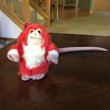 Captain EO Red Fuzzball (1986) (8'' tall)