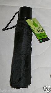 Raines Totes Manual Umbrella Large L Coverage Black Color Print Compact Isotoner