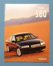 2000 Volvo S80 Dealer Sales Brochure~Original Showroom Catalog Auto Literature