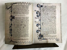 Canterbury Tales 1400-1410, Fine Leather Facsimile