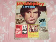 PHOTOPLAY FILM/TV SCENE JUNE 1978 OLIVER TOBIAS COVER VG/EXCELLENT CONDITION