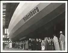 1936 Zeppelin LZ 129 Hindenburg Airship Hangar Lakehurst Type 1 Original Photo