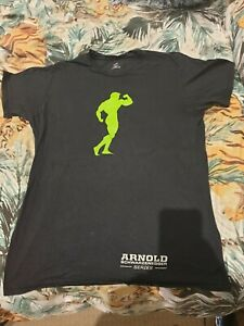 Schwarzenegger Vintage Rare Arnold Legacy Musclepharm bodybuilding pumping iron