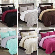 Hig Classic Down Alternative Comforter Set All Season Reversible Comforter Soft