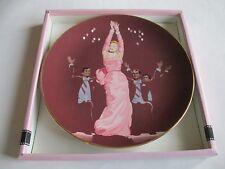 Marilyn Monroe Gentlemen Prefer Blondes Collector's Plate Ltd Edt Numbered Certi