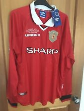 Manchester United Retro Remake Champions League shirt (L) 1999 Solskjaer