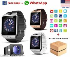 Smart Watch also a mini Smartphones w/ Camera & Bluetooth for Iphone & Android