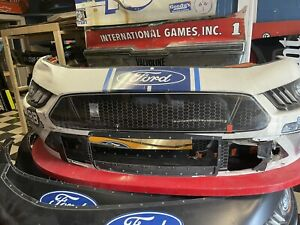Chase Briscoe 2020 Ford Mustang 98 Shelby Cobra Nascar Race Used Sheetmetal Nose