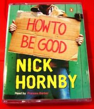 Nick Hornby How To Be Good 2-Tape Audio Book Frances Barber