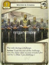 A Game of Thrones 2.0 LCG - 1x #159 Winter is coming - Base Set - Second Editio