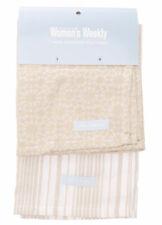 2 Pack Tea Towel Pack | Cook The Australian Women's Weekly | 100% Cotton | Latte