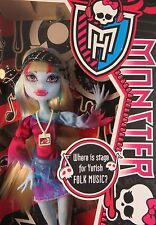 Monster High Music Festival Hippy Abby Bominable Daughter of Yeti Doll NIB