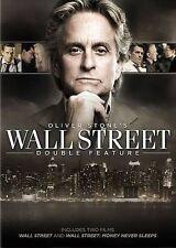 Wall Street/Wall Street: Money Never Sleeps (DVD, 2014, 2-Disc Set) NEW