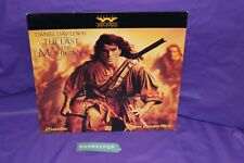 The Last Of The Mohicans Laserdisc Movie Special Widescreen Edition EP 1986-85