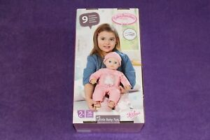 BABY ANNABELL LITTLE BABY FUN 36CM DOLL FOR CHILDREN AGED 2 YEARS & OVER