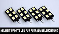 Für Audi A4 A5 Q5 A6 A7 Einstiegsbeleuchtung Update Led Platine Lichtpaket #37