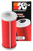 KN-652 K&N OIL FILTER; POWERSPORTS (KN Powersports Oil Filters)