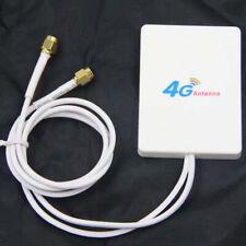 3G 4G 28dBi SMA Connector LTE Router Modem Antenna External Antenna 2M CableMINI