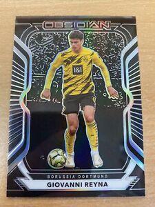 2021 Panini Obsidian Soccer Giovanni Reyna 180/195 Borussia Dortmund