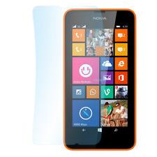 9 X Super Transparente Lámina protectora Nokia Lumia 630 pantalla de