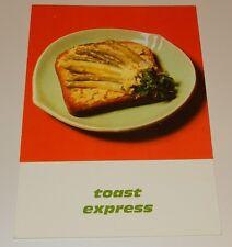 Fiche Recette de CUISINE Pain JACQUET : Toast Express - Vintage
