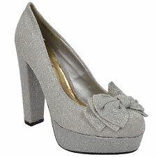 """3-4.5"""" High Heel Synthetic Shoes for Women"""