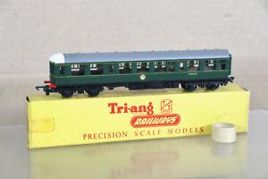 TRIANG T136 TT GAUGE BR CLASS 104 DMU DIESEL LOCOMOTIVE TRAILER CAR M50425 1oa