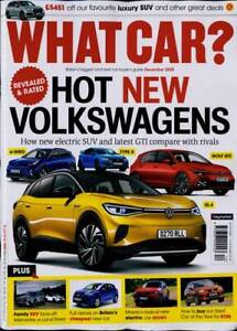 What Car? Magazine December 2020 - Hot New Volkswagens, Merc v Land Rover SUVs