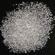 Natural Loose Diamond Round I1-I3 Clarity G H White Color 100 Pcs NQ34