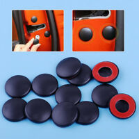 12Pcs Car Interior Door Lock Screws Protector Protction Cover Anti-Rust Cap Trim