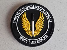 British Army SAS Special Air Service UKSF Special Forces PVC Hook/Loop Patch