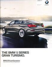 2014 BMW 5-Series Gran Turismo 68-page UK Car Sales Brochure Catalog   535i 550i