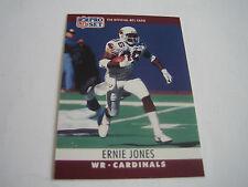 1990 PRO SET FOOTBALL ERNIE JONES CARD #258***PHOENIX CARDINALS***