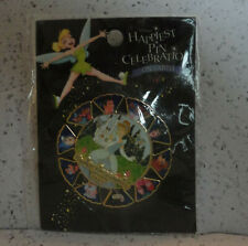 Disney Cinderella Spinner Pin Happiest Celebration on Earth On Card in Plastic