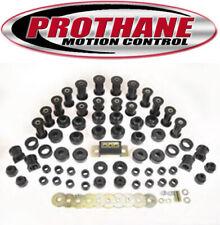Prothane 1-2009-BL 1987-1996 Jeep Wrangler Complete Suspension Bushing Kit Black