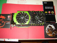 MSI GeForce 2GB GDDR5 128-bits DirectX 12 VR SLI GTX 960 GAMING 100ME BH***