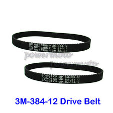 2x 3M-384-12 Transfer Drive Belt For Electric E Scooter Pulse Charger City Skull