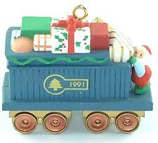 Hallmark Keepsake Ornament CLAUS & COMPANY GIFT CAR Train Locomotive RR 2nd B