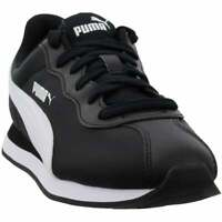 Puma Turin Ii Nl Lace Up  Mens  Sneakers Shoes Casual   - Black