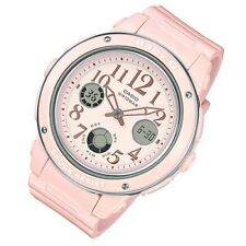 Casio Baby-G Womens Wrist Watch BGA150EF-4B  BGA-150EF-4B Pink Analog-Digital